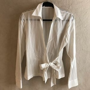 The Limited Wrap Tops/Blouse Women M